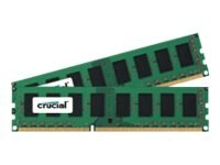 Crucial 16GB PC3-12800 240-pin DDR3 SDRAM DIMM Kit, CT2KIT102464BA160B, 15199358, Memory