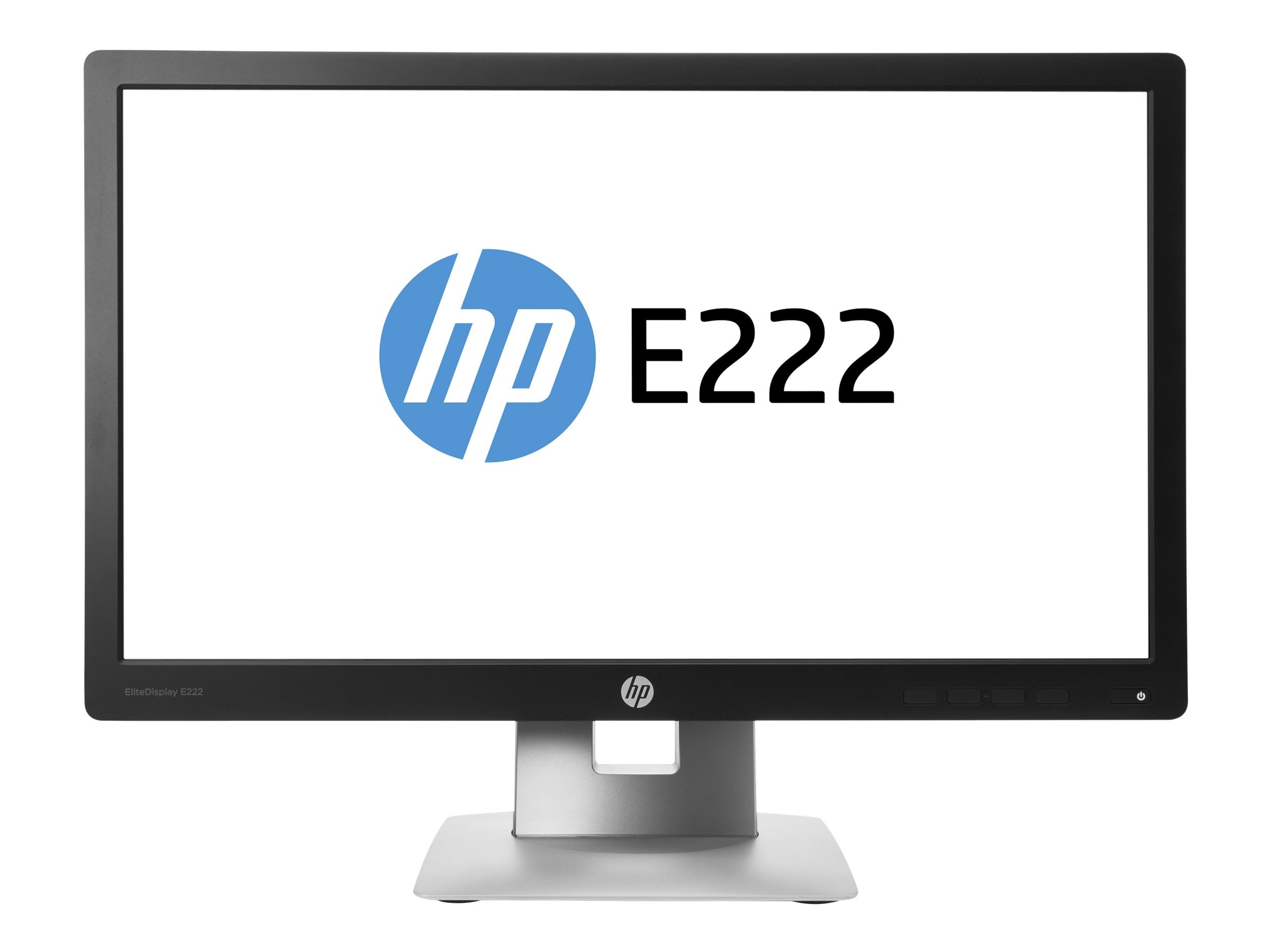 HP Smart Buy 21.5 E222 Full HD LED-LCD Monitor, Black, M1N96A8#ABA, 30737311, Monitors - LED-LCD