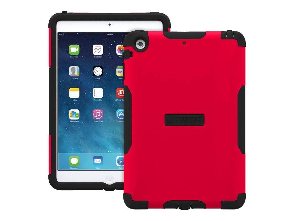 Trident Case Aegis Case for Apple iPad mini w  Retina Display, Red, AGAPLIPADMINI2USRED