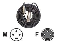 Nady XLR to XLR M M Microphone Cable, 50ft