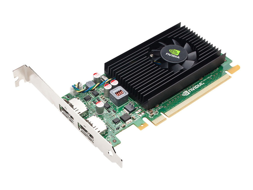 PNY NVS 310 PCIe 2.0 x16 Low-Profile Graphics Card, 512MB DDR3, VCNVS310DP-PB, 14414141, Graphics/Video Accelerators