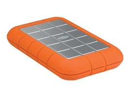 Lacie 500GB Rugged Triple 7200 RPM USB 3.0 FireWire800 Portable Hard Drive, 301983, 13008239, Hard Drives - External