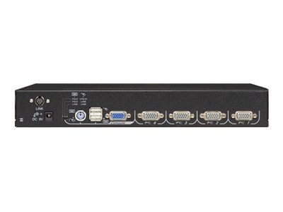 Black Box 4-Port ServSwitch EC for PS 2 and USB Servers, KV9204A, 7024267, KVM Switches