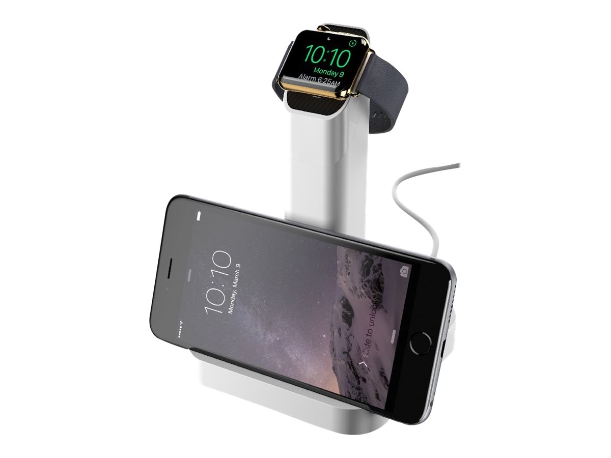 Griffin WatchStand for Apple Watch, White