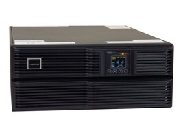 Liebert GXT4 6000VA Online UPS 208 120V w  Rackmount Kit, Webcard, GXT4-6000RT208, 18382060, Battery Backup/UPS