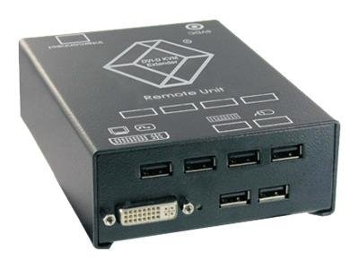 Black Box ServSwitch DVI Catx KVM Extender, Single DVI-D, USB