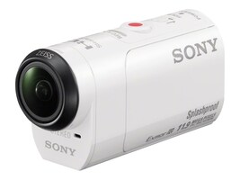 Sony 11.9MP POV HD Camcorder + Live View Remote, HDRAZ1VR/W, 21485414, Camcorders