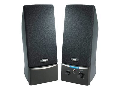 Cyber Acoustics Amplified Computer Speaker System, Black, CA-2012RB