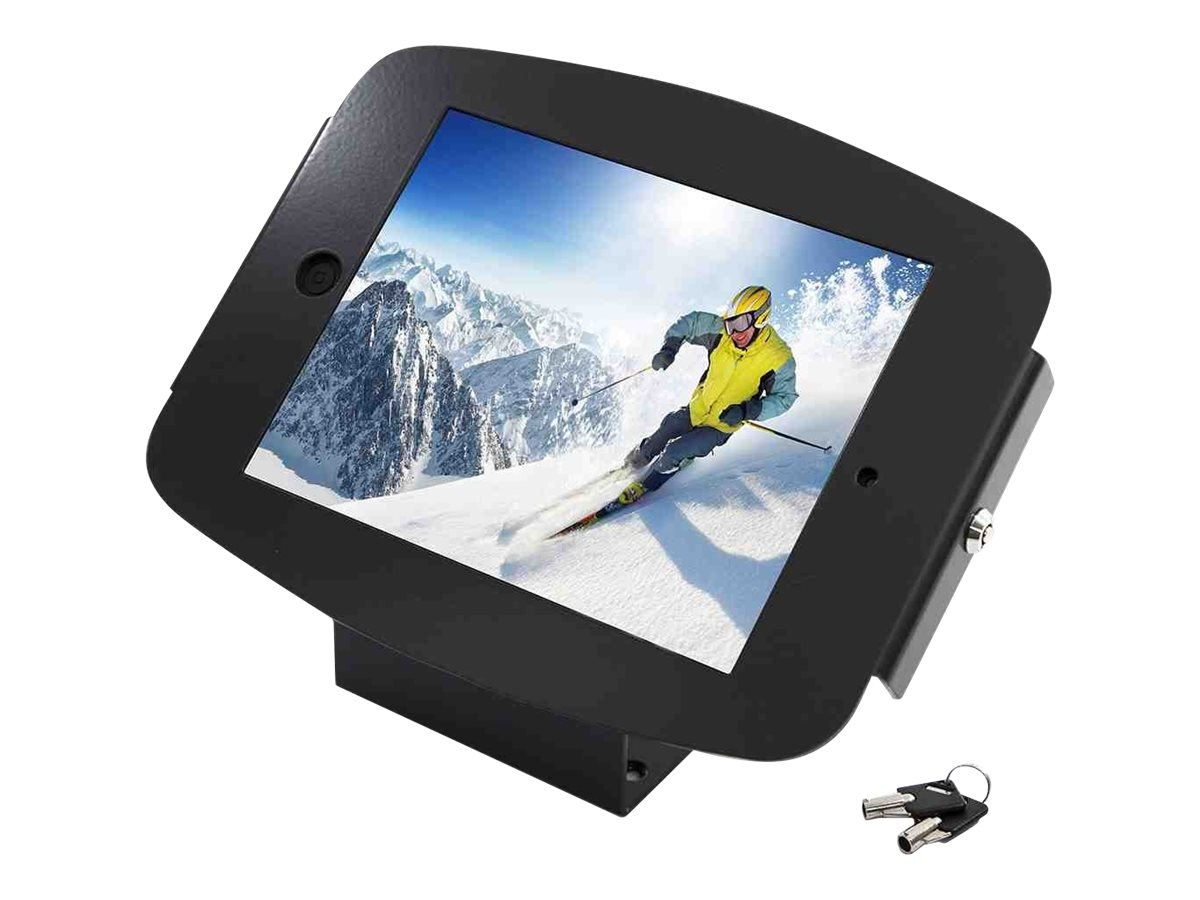 Compulocks iPad mini Enclosure Kiosk, Space Wall or Desk Mount, Black