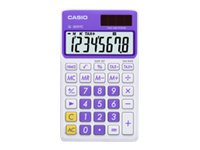 Casio SL-300VC Extra Large Display Time and Tax Calculator, Purple, SL-300VC-PL, 11771134, Calculators