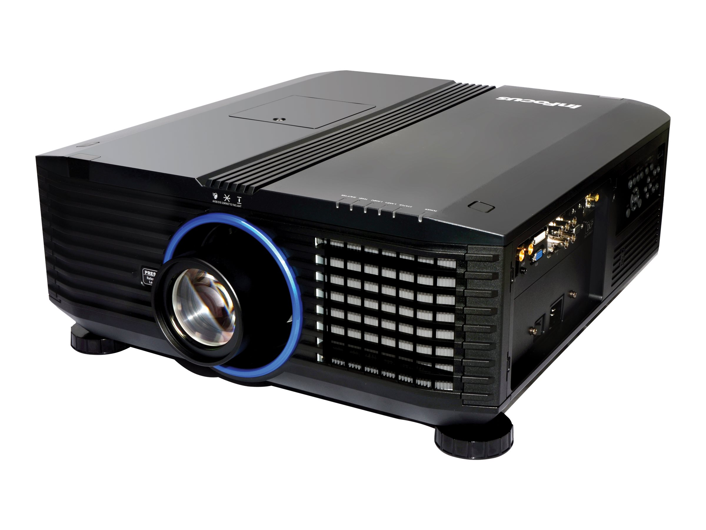 InFocus IN5554L WXGA DLP Projector, 7000 Lumens, Black, IN5554L, 15312630, Projectors