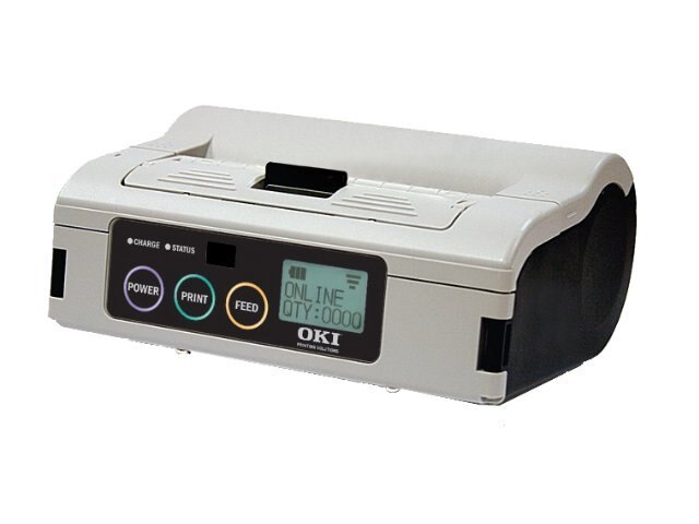 Oki LP470b Bluetooth Label Printer, 62306402, 11531747, Printers - Label