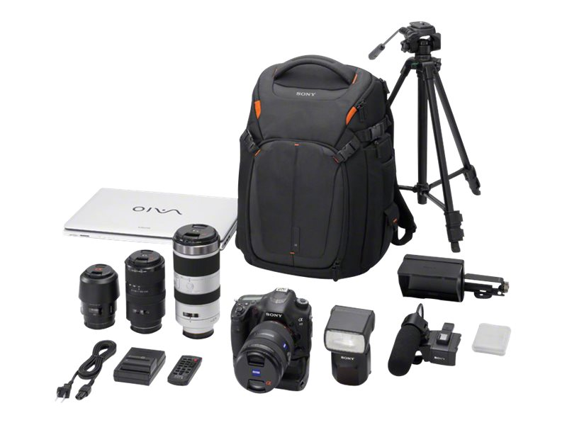 Sony Camera Backpack for DSLR, Lenses, Notebook PC, LCSBP3, 14908790, Carrying Cases - Camera/Camcorder