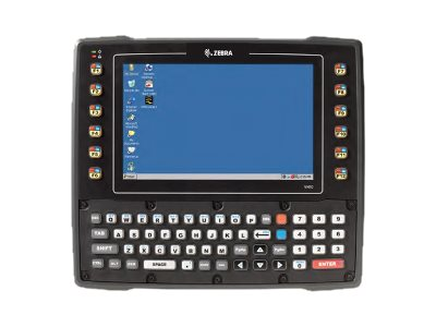 Zebra Symbol Psion VH10 Tablet Stand. Temp. 512MB abgn 12-48VDC Wavelink Antenna WCES 6.0 English, VH10115110010A00