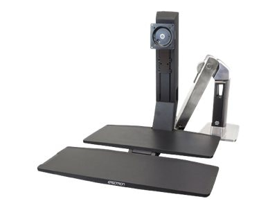 Ergotron WorkFit-A, Single LD with Worksurface+, 24-317-026, 15559093, Ergonomic Products