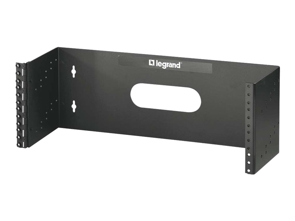 C2G 4U x 19 Hinged Wall Mount Bracket, 14622, 30927413, Rack Mount Accessories