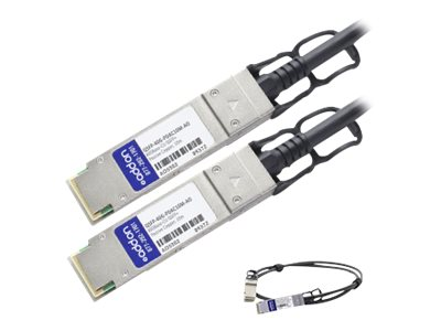 ACP-EP 40GBase-CU QSFP+ to QSFP+ Direct Attach Cable, 10m, QSFP-40G-PDAC10M-AO