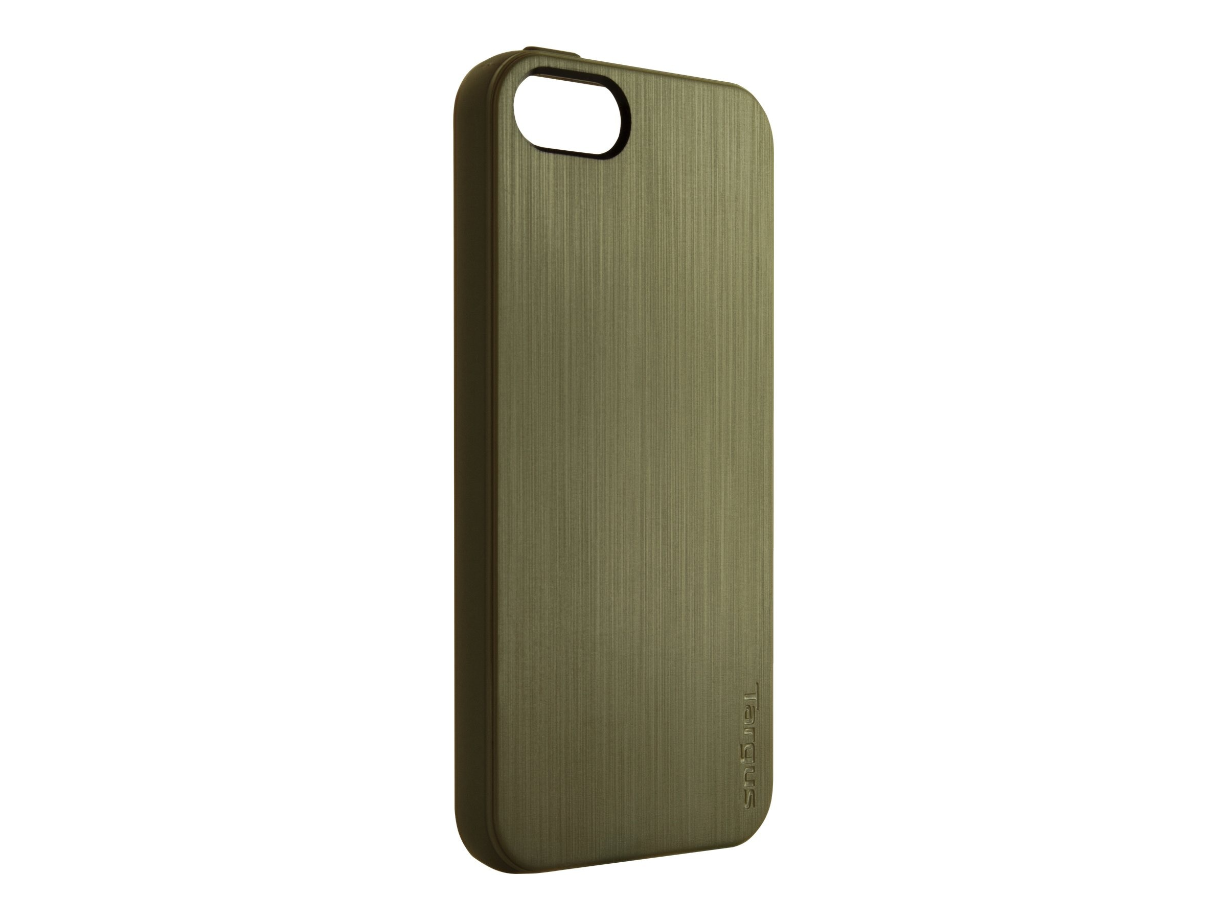 Targus Slim-Fit Back Cover for iPhone 5, Green, THD03105US, 14765709, Carrying Cases - Phones/PDAs