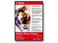 Canon 4 x 6 Matte Photo Paper (120-sheets), 7981A014, 5662169, Paper, Labels & Other Print Media