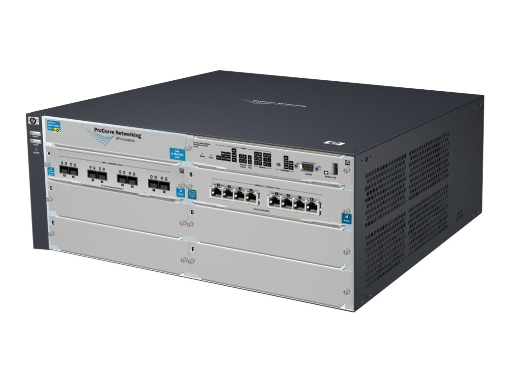 HPE 5406 8-port 10GBASE-T 10GbE SFP+ v2 zl Switch with Premium Software, J9866A#ABA, 16123742, Network Switches