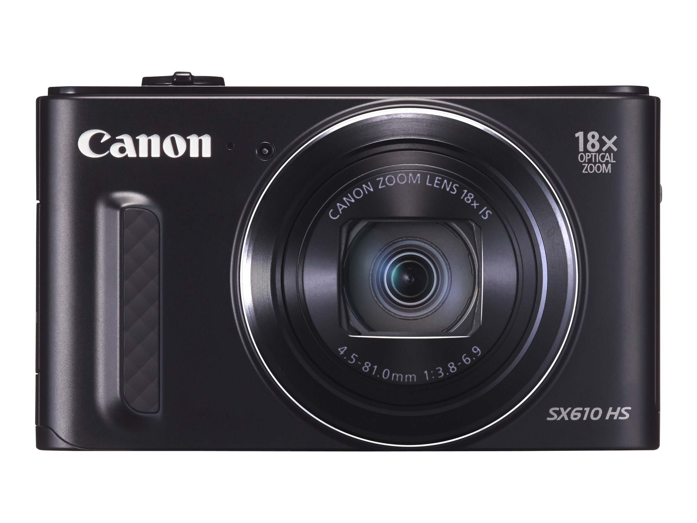 Canon Powershot SX610 HS Camera, 20.2MP, 18x Zoom, Black, 0111C001
