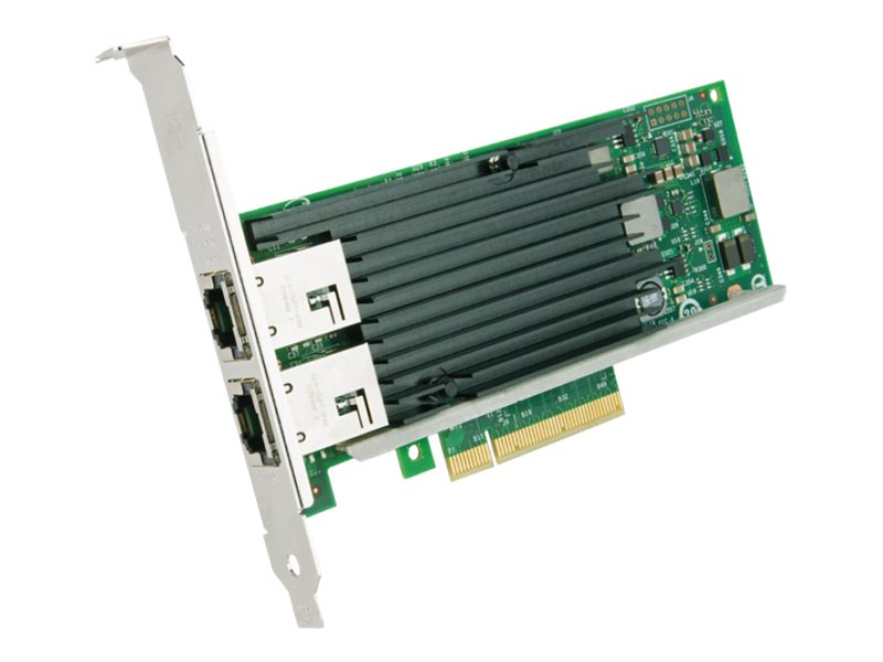 Intel Ethernet Converged 10GbE Network Adapter X540-T2, X540T2, 13541519, Network Adapters & NICs