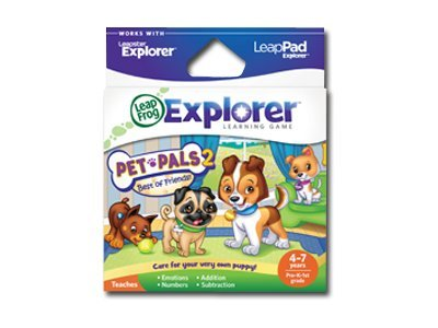 LeapFrog Explorer Pet Pals 2, 39087, 13003809, Software - Educational