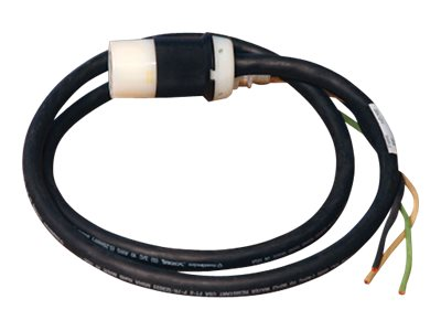 Tripp Lite Single-Phase Whip L5-20R 20ft with 3ft Outer Jacket Removed, SUWL520C-20, 11574608, Power Cords