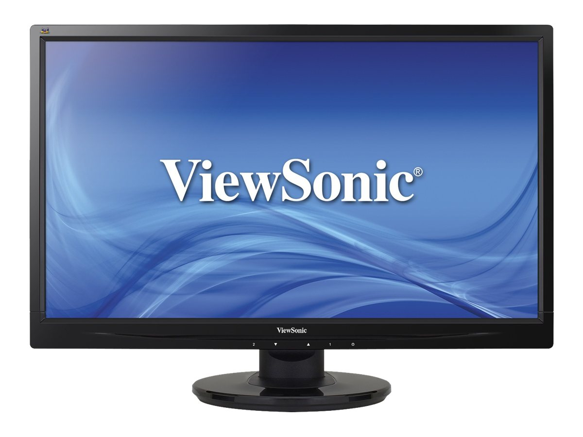 ViewSonic 24 VA2446M-LED Full HD LED-LCD Monitor, Black