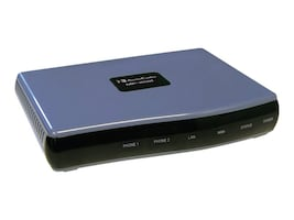 AudioCodes MP 202 VOIP TELEPHONE ADAPTER 2FXS PORTS, MP-202B/2FXS/SIP-3, 9491168, Phone Accessories