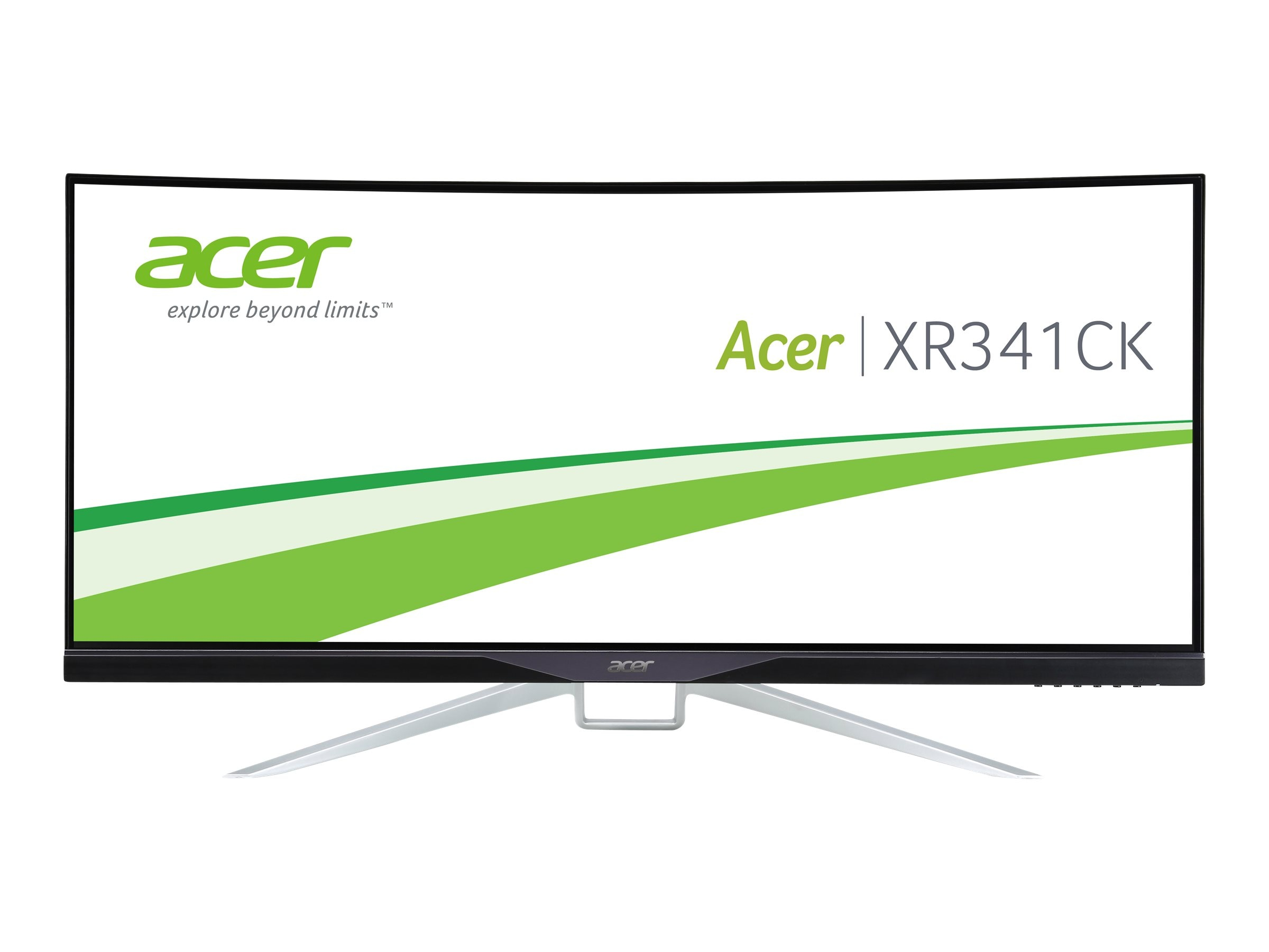 Acer 34 XR341CK bmijpphz WQHD LED-LCD UltraWide Monitor, Black, UM.CX1AA.001, 26139852, Monitors - Large-Format LED-LCD