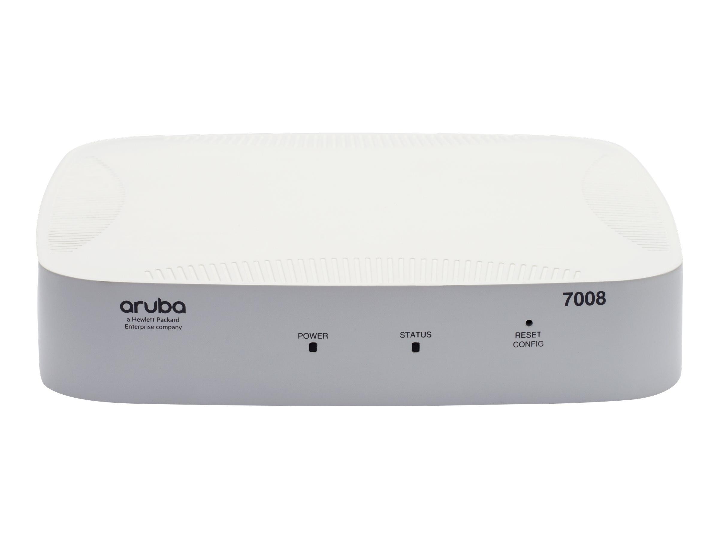 Aruba Networks 7008 8-Port GbE 100W POE+ FIPS TAA (US)