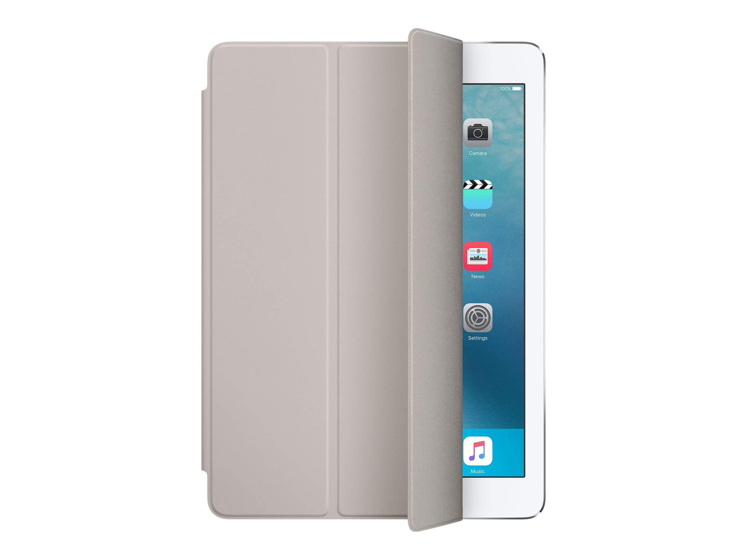 Apple Smart Cover for iPad Pro 9.7, Stone, MM2E2AM/A, 31812108, Carrying Cases - Tablets & eReaders