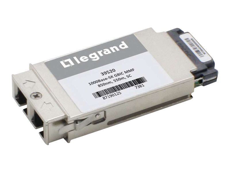C2G 1000BASE-SX MMF SC GBIC Transceiver Module Cisco WS-G5484 Compatible, 39520, 16946351, Network Transceivers