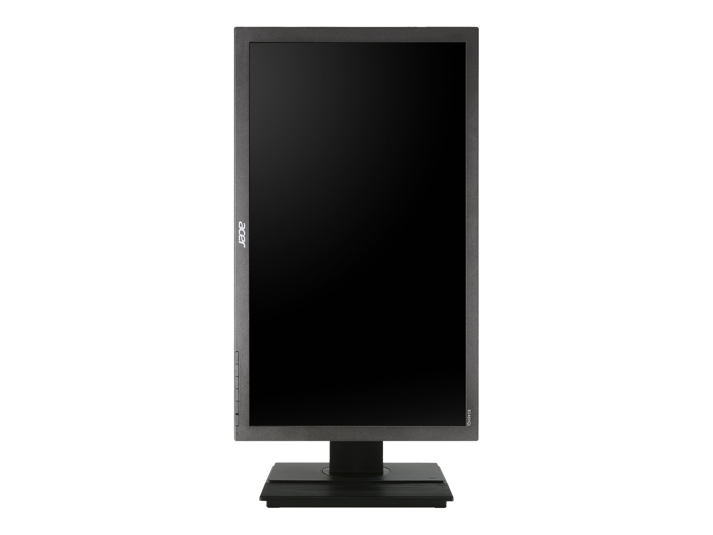 Acer 23.6 B246HQL Aymidr Full HD LED-LCD Monitor, Black, UM.UB6AA.A01, 18447476, Monitors - LED-LCD