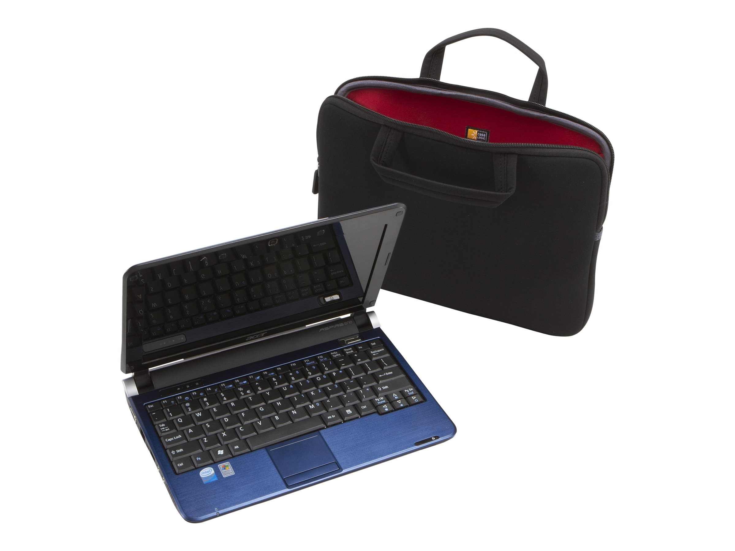 Case Logic 12.1 Laptop & Surface Pro 3 Sleeve, LNEO-12BLACK, 10663115, Carrying Cases - Notebook