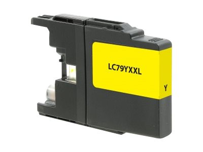 V7 LC79Y Yellow High Yield Ink Cartridge for Brother MFC-J6510DW & MFC-J6710DW, V7LC79Y, 18448102, Ink Cartridges & Ink Refill Kits