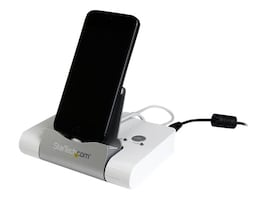 StarTech.com 3-Port USB 3.0 Hub, Combo Fast Charge Port 2.1A with Smartphone Tablet Stand, ST4300U3C1, 17652734, USB & Firewire Hubs