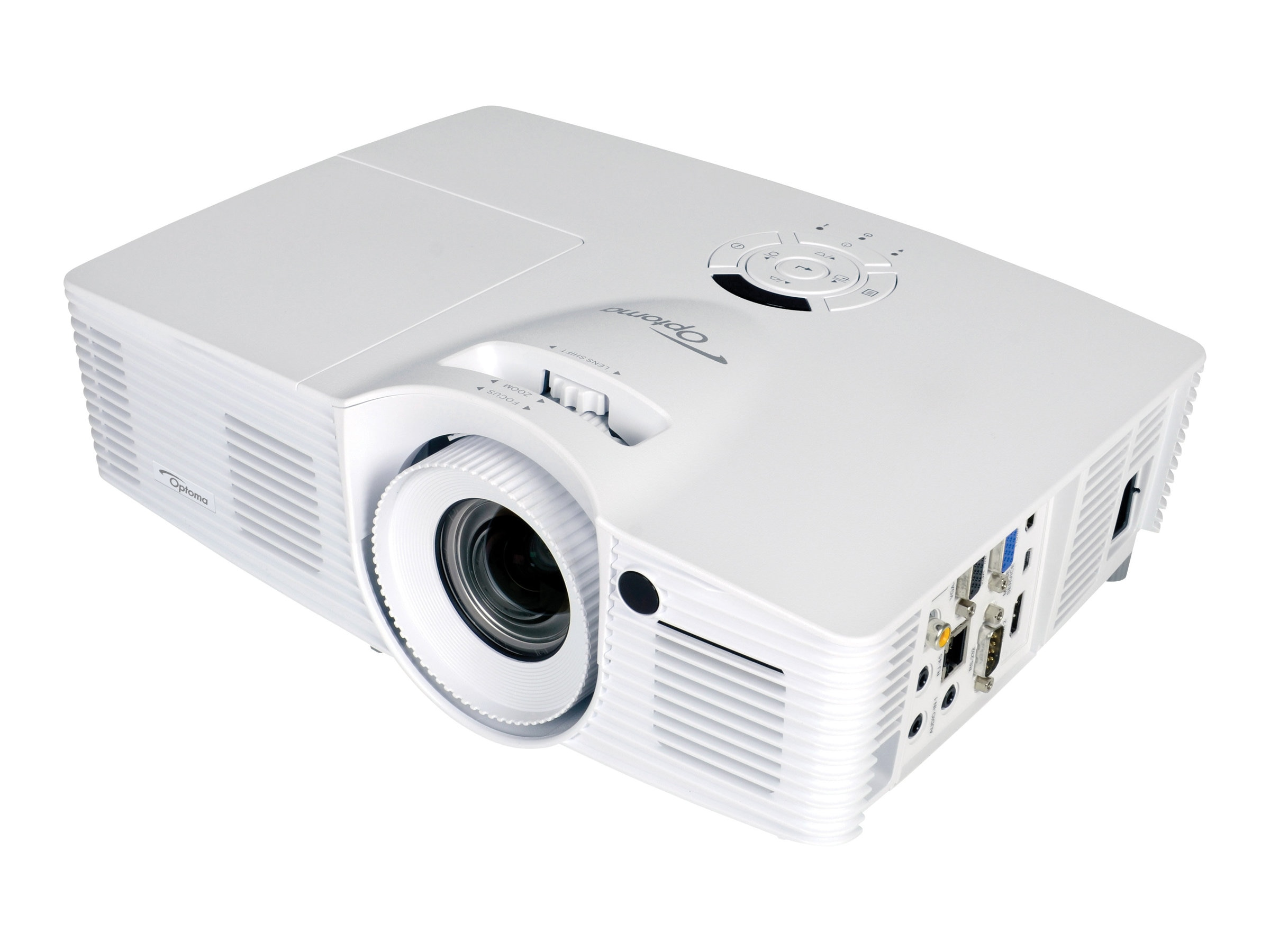 Optoma EH416 1080p DLP Projector, 4200 Lumens, White