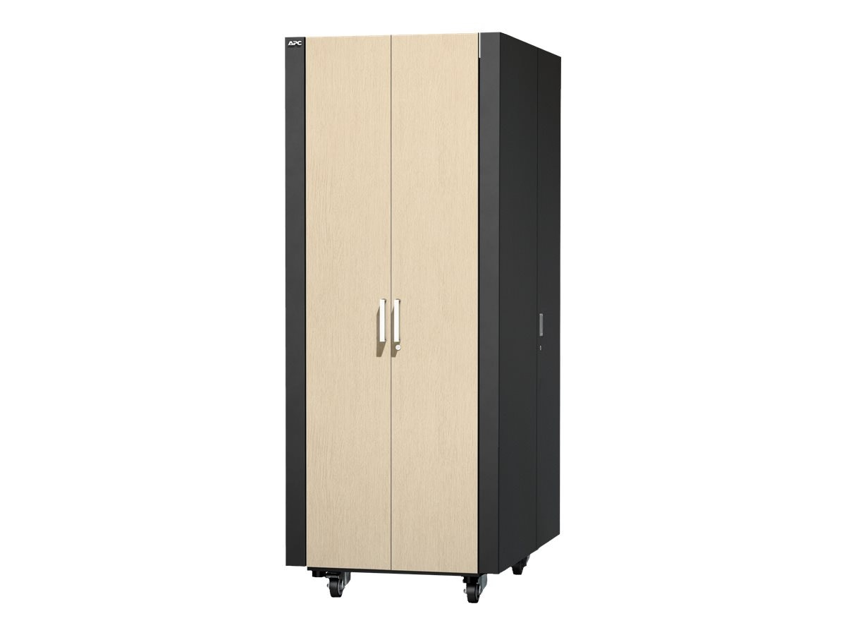 APC NetShelter CX 38U Secure Soundproof Server Room Box Enclosure, AR4038A, 14989690, Racks & Cabinets