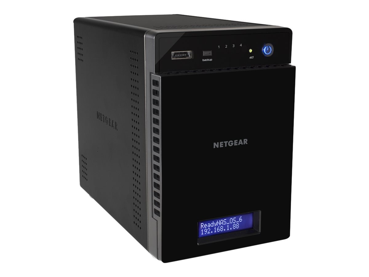 Netgear ReadyNAS 314 Storage w  4x2TB Enterprise Hard Drives