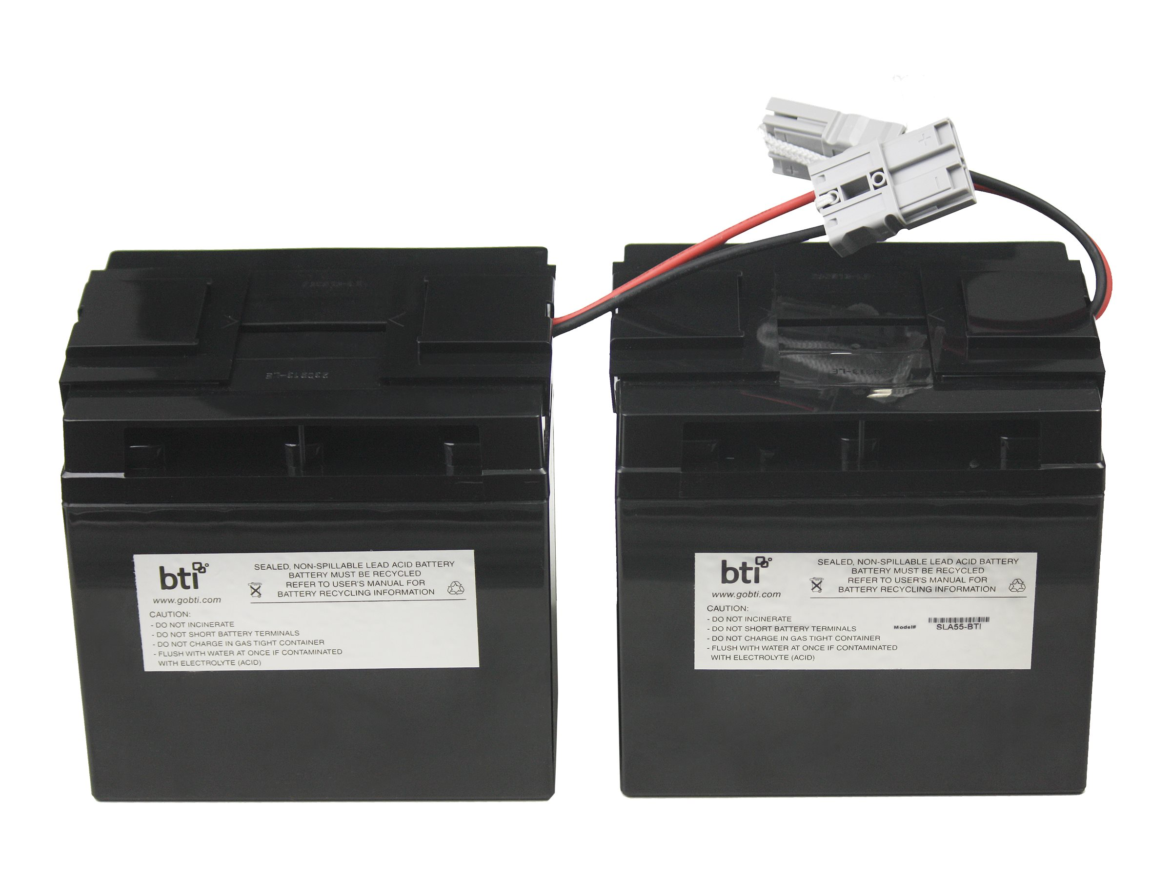 BTI APC Replacement Battery, RBC55-SLA55-BTI