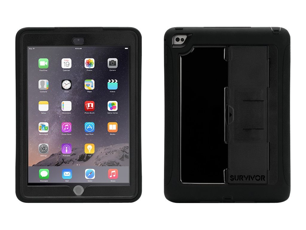 Griffin Survivor Slim for iPad Air 2, Black Black