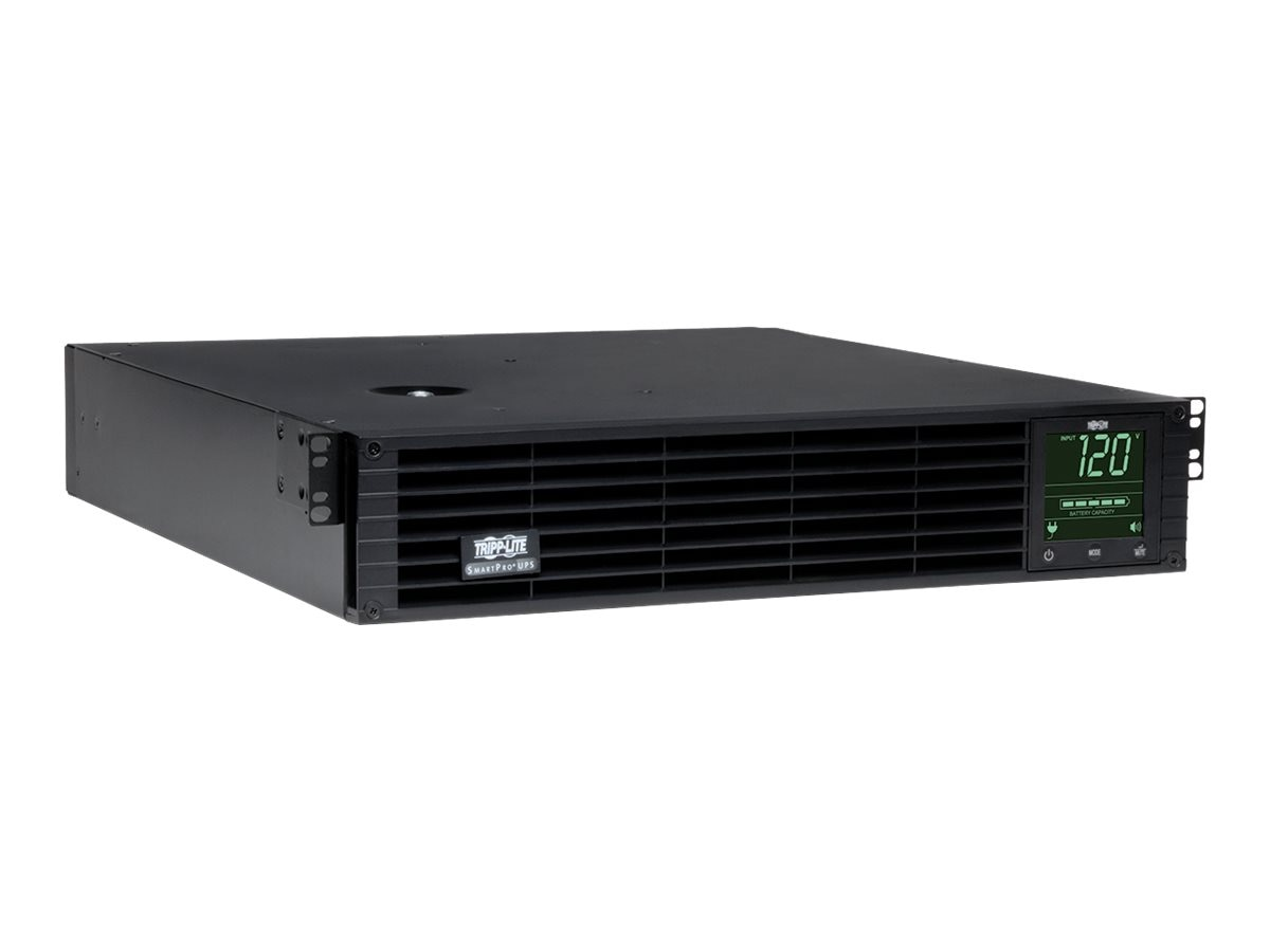 Tripp Lite SmartPro 3kVA 120V Line Interactive Extended Run LCD 2U UPS (9) Outlets, SNMP Web Card, TAA