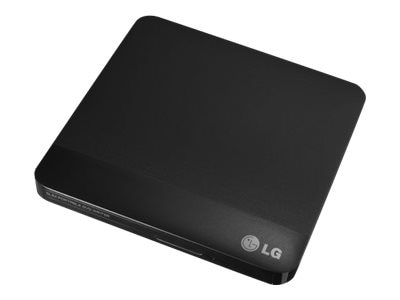 LG Super Multi Portable DVD Rewriter w  M-Disc, GP50NB40