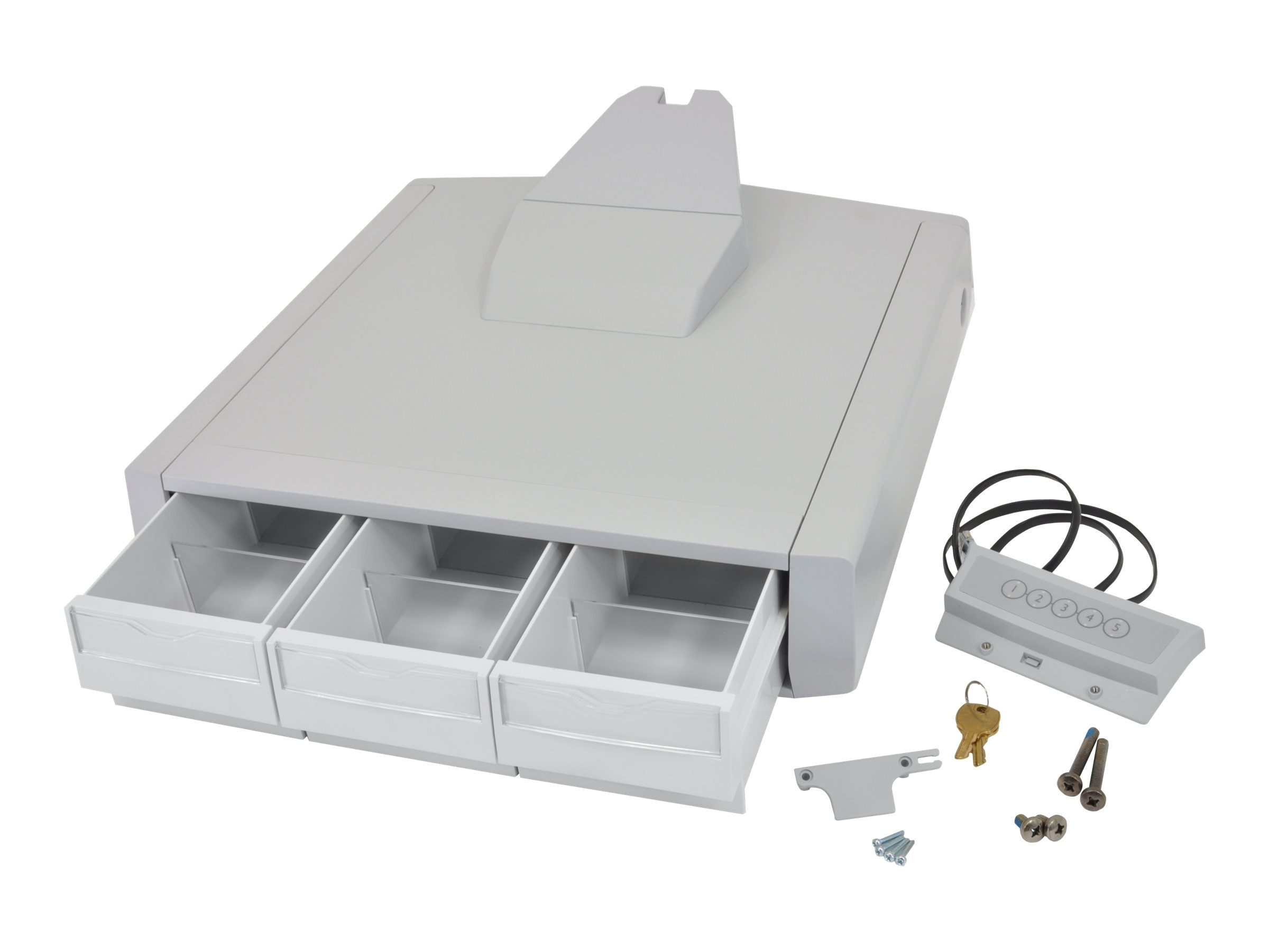 Ergotron StyleView Primary Drawer SV41 Laptop Triple, 97-728, 15051732, Cart & Wall Station Accessories