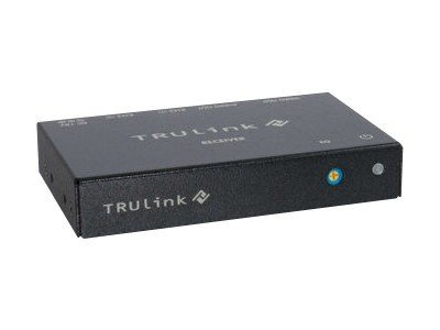 C2G TruLink VGA+3.5mm Audio-over-Cat5 Box Receiver, 29368, 16236624, Video Extenders & Splitters