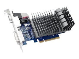 Asus NVIDIA GeForce GT 710 PCIe 2.0 Graphics Card, 2GB DDR3, 710-2-SL-CSM, 31400314, Graphics/Video Accelerators