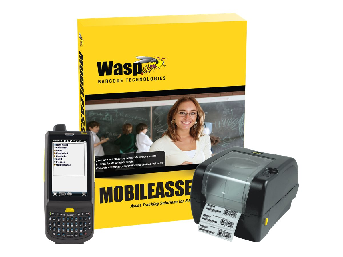 Wasp MobileAsset.EDU Enterprise with HC1 & WPL305 (unlimited-user)
