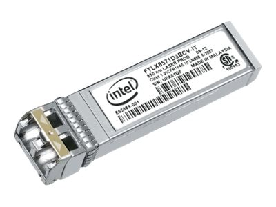 Intel Dual Rate 10GBase-SR 1000Base-SX SFP+ Transceiver, E10GSFPSR